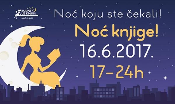 Večeras je Noć knjige!